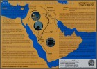 The Route of Imam Hussain from Makkah to Karbala