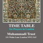Prayer Timetables 2013